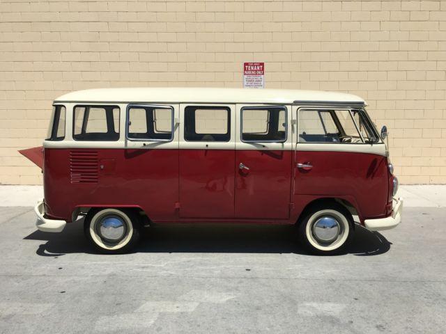 Seller Of Classic Cars 1967 Volkswagen Bus Vanagon