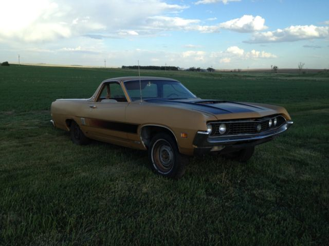 1970 Ford Ranchero (Gold/Brown)