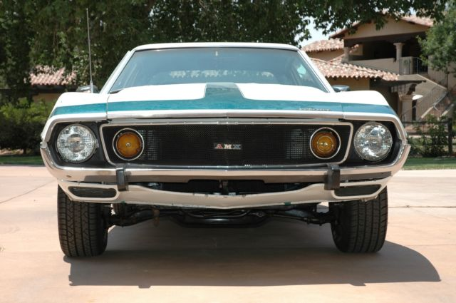 1974 AMC AMX (White/Green)