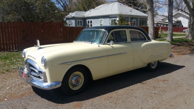 1951 Packard 200 (Yellow/Gray)
