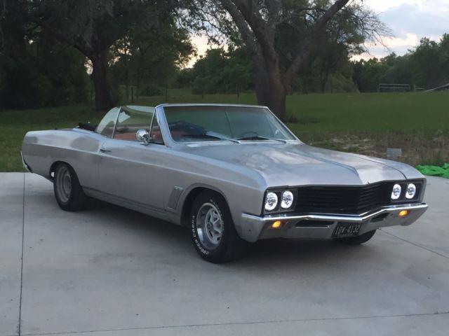 1967 Buick Skylark Silver Red