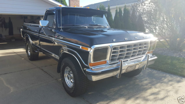1978 Ford F-250 (Black/Red)