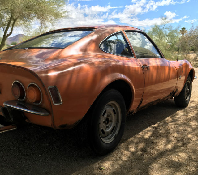 1970 Opel GT (Orange/Black