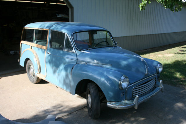 1960 Morris Traveller (blue/Gray)