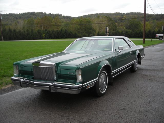 1977 Lincoln Mark Series (Jade Green/Green)