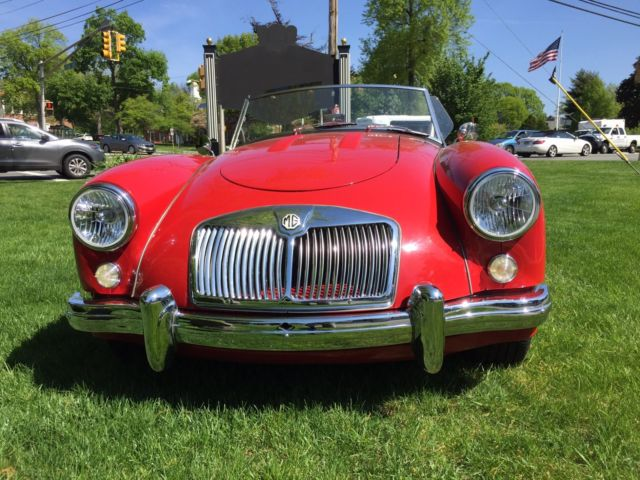 1956 MG MGA (Red/Tan)