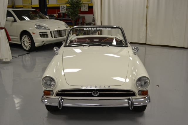 1965 Sunbeam Tiger (White/Red)
