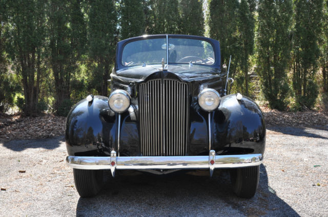 1939 Packard 1700 (Black/Red)