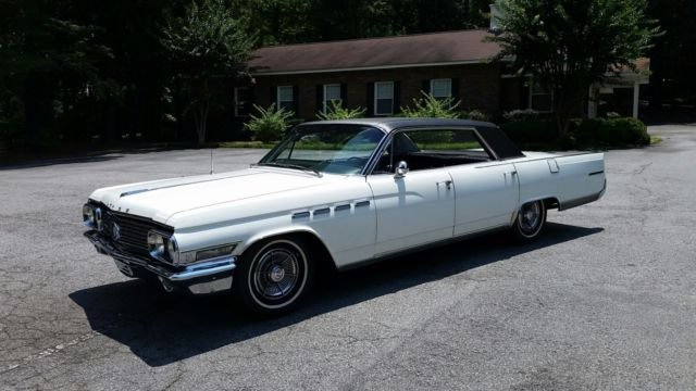 1963 Buick Electra (White/Black)