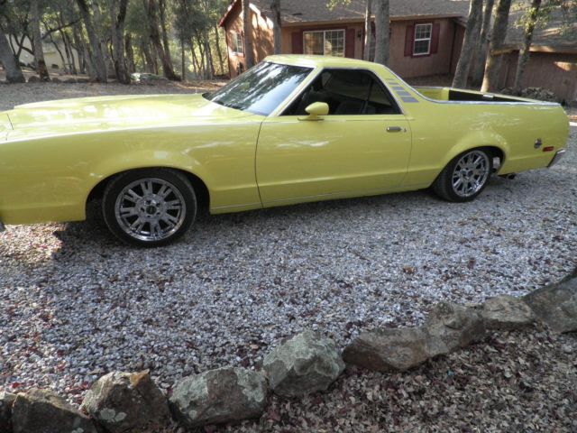 1979 Ford Ranchero (yellow/Gray)
