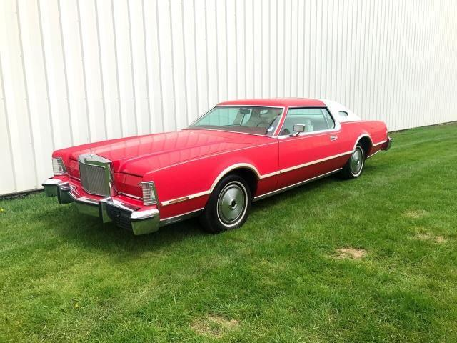 1976 Lincoln Mark Series (Red/White)