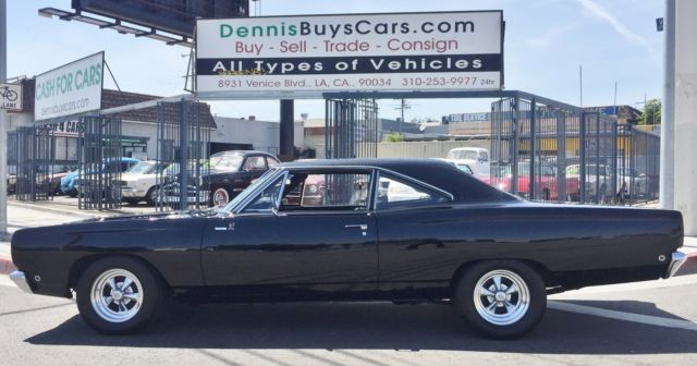 1968 Plymouth Road Runner (Black/Gray)