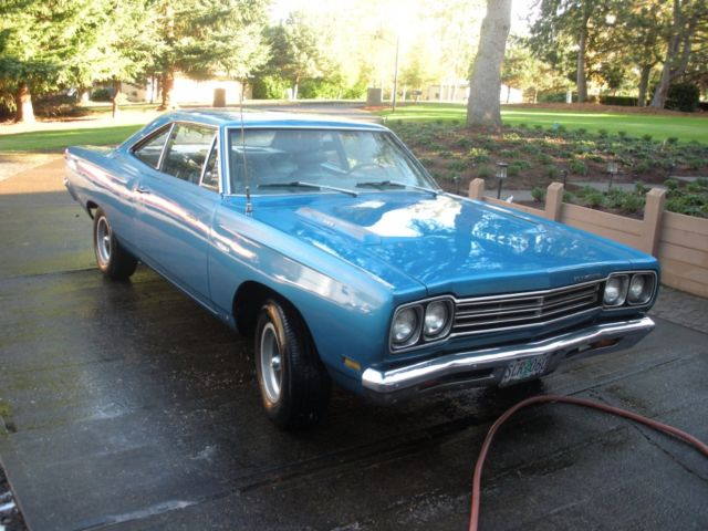 1969 Plymouth Road Runner (Blue/Blue)