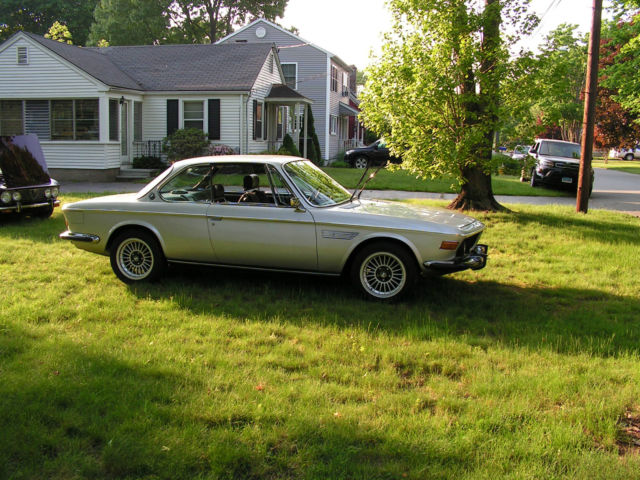 1973 BMW 3.0 CSI (Polaris Silver/Blue)