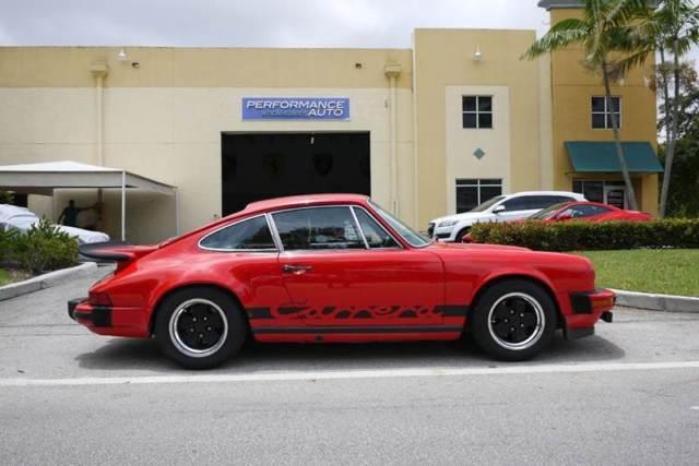 Seller of Classic Cars - 1975 Porsche 911 (Red/Black)