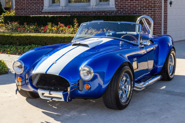 seller of classic cars 1965 shelby cobra 427 s c blue black. Black Bedroom Furniture Sets. Home Design Ideas