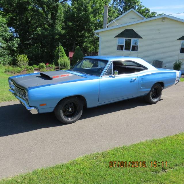 1969 Dodge Coronet (Blue B5/Black