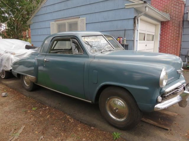 1948 Studebaker RARE 1948 STUDEBAKER THREE PASSENGER COUPE (Blue/VARIOUS)