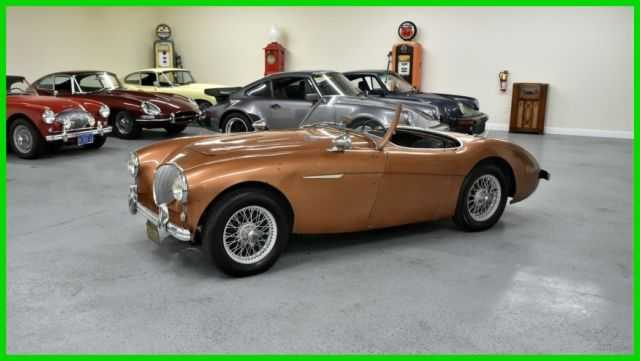 1953 Austin Healey 100-4 (Brown/Blue)