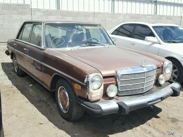 1976 Mercedes-Benz 300 D (Brown/Tan)