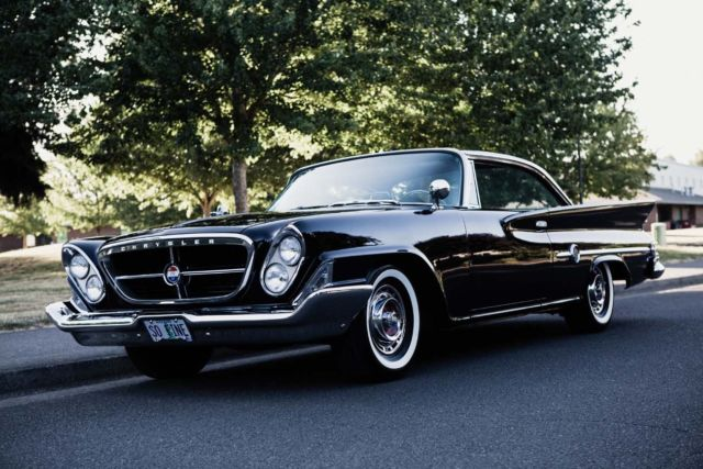 1961 Chrysler 300 Series (Black/Tan)