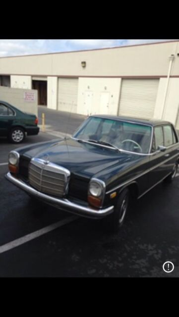1969 Mercedes-Benz 200-Series (Green/Camel)