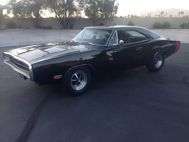 1970 Dodge Charger (Black/Black)