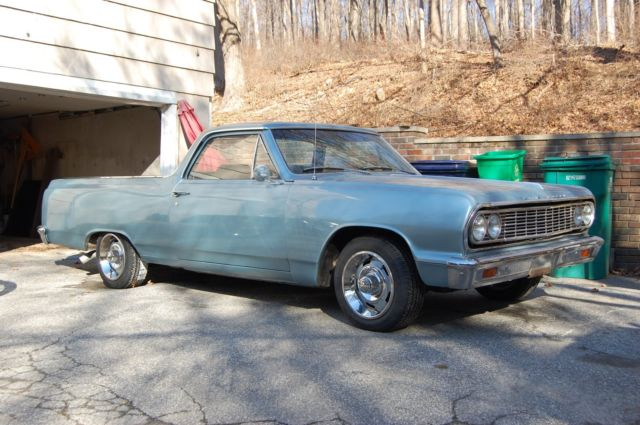 1964 Chevrolet El Camino (Blue/Black)
