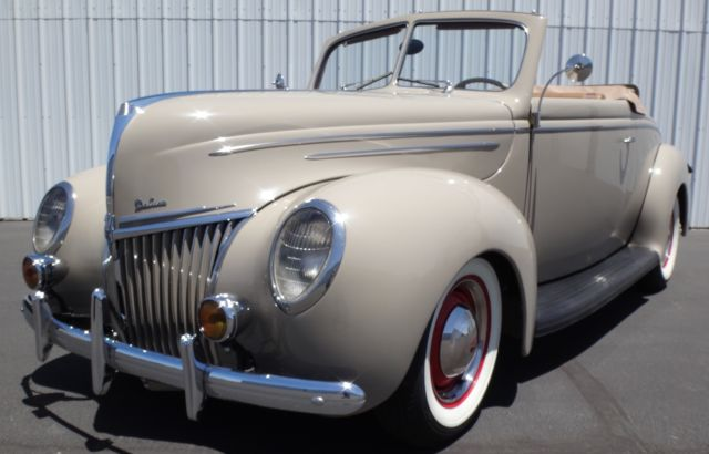 1939 Ford 1939 Ford Deluxe Convertible Coupe, All Henry Ford Steel!