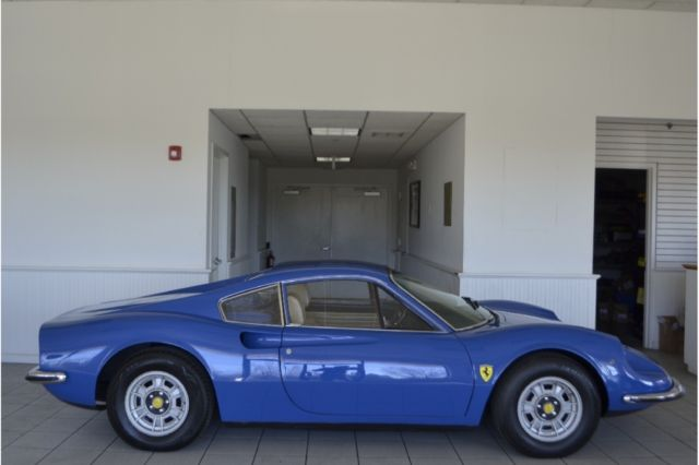 1971 Ferrari 246 (Blue/Tan)