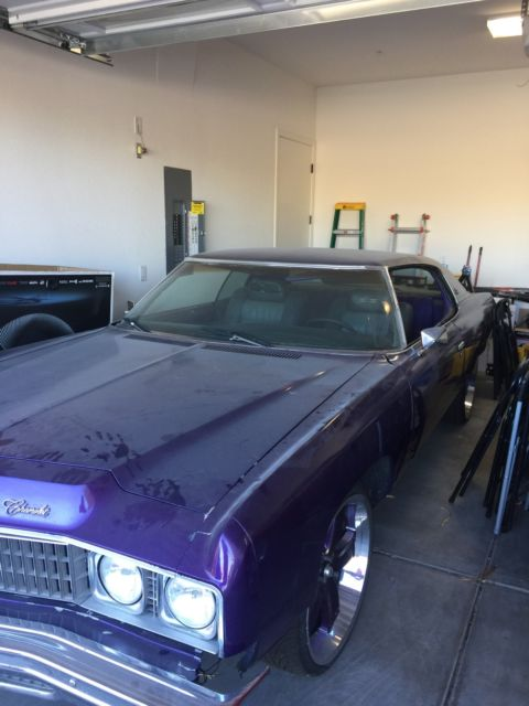 seller of classic cars 1973 chevrolet impala purple purple. Black Bedroom Furniture Sets. Home Design Ideas
