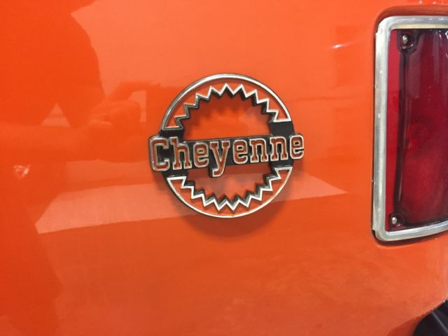 1973 Chevrolet Blazer (Orange/Gray)