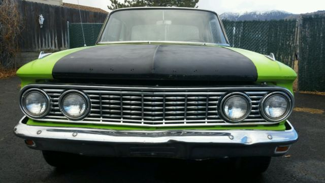 1963 Mercury Comet (Green/Blue)