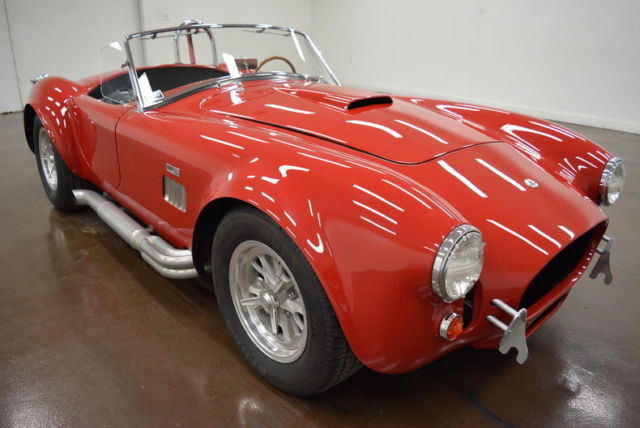 1967 Unique Motor Cars 427 SC Cobra (Red/Black)