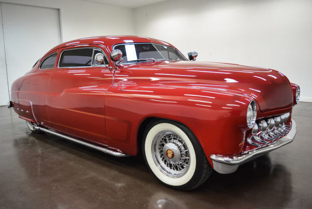 1949 Mercury Coupe (Red/Tan)