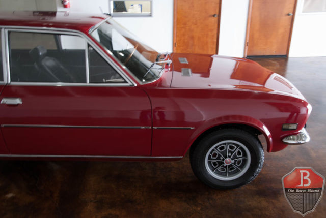 1971 Fiat 124 Spider (Burgundy/Black)