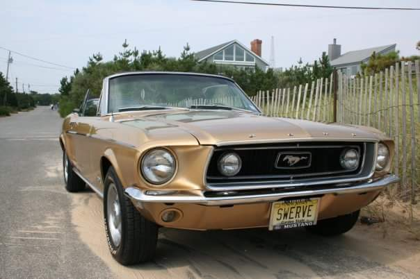 1968 Ford Mustang (Gold/Gold)