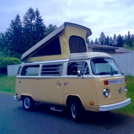 1979 Volkswagen Bus/Vanagon (Beige/Brown)