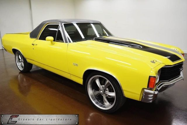1972 Chevrolet El Camino (Yellow/Black)