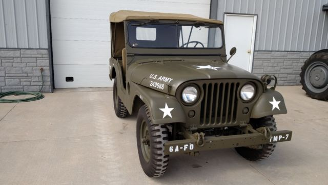 19530000 Willys jeep