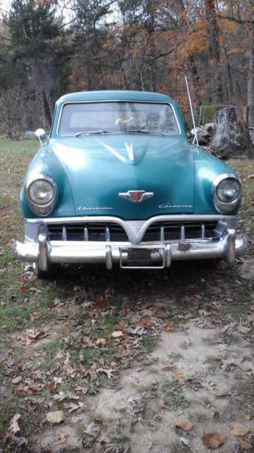 1952 Studebaker Champion (Turquoise/Grey/Black)