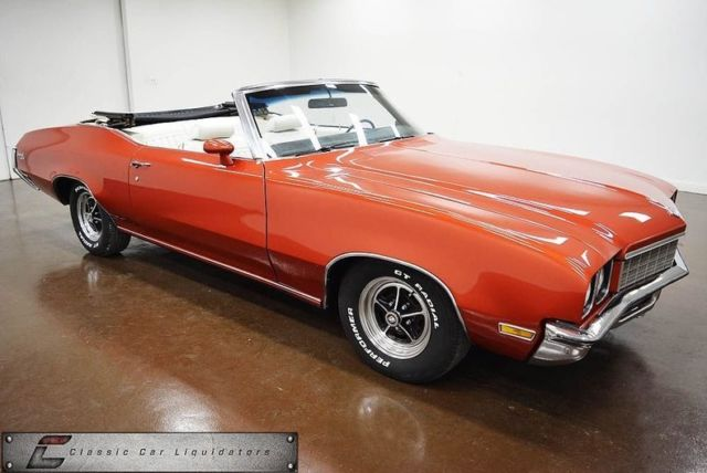 1972 Buick Skylark (Orange/White)