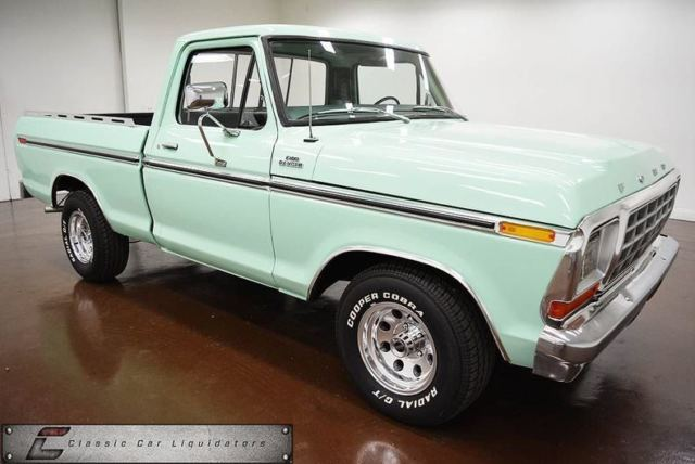 1979 Ford F-100 (Light Jade/Green)