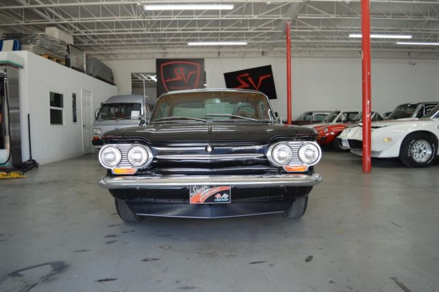 1963 Chevrolet Corvair (Black/Red)