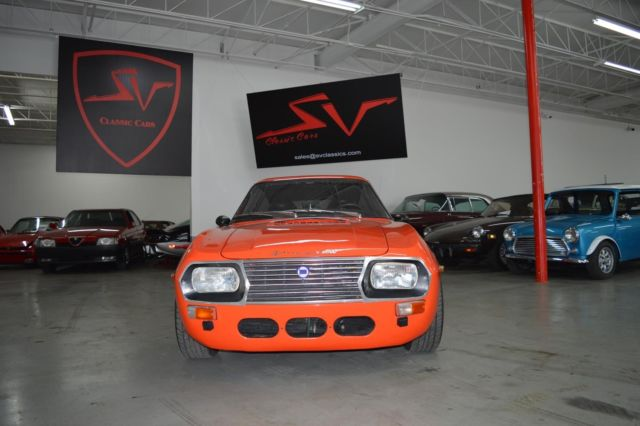 1971 Lancia Fulvia Zagato Sport (Orange/Black)