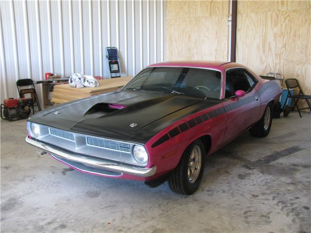 1970 Plymouth Barracuda (panther pink/Black)