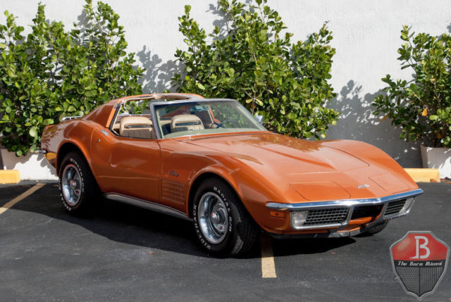 1971 Chevrolet Corvette (Orange/Tan)