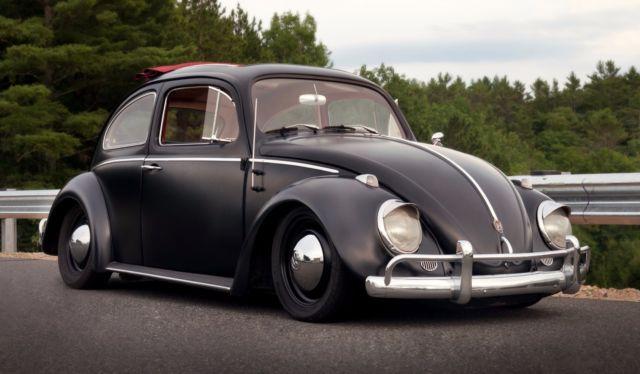 1962 Volkswagen Beetle Clic Matte Black Custom