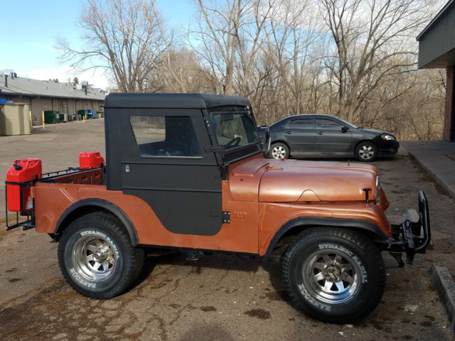 1961 Jeep CJ (Bronze/Bronze/Black)