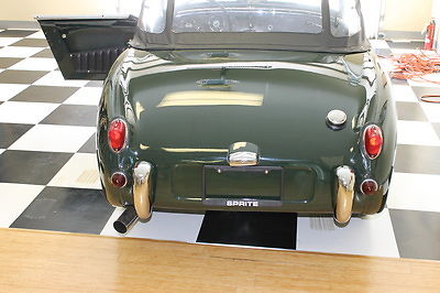 1961 Austin Healey Sprite (green/Black)